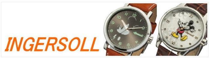 インガソール ディズニー INGERSOLL DISNEY 腕時計