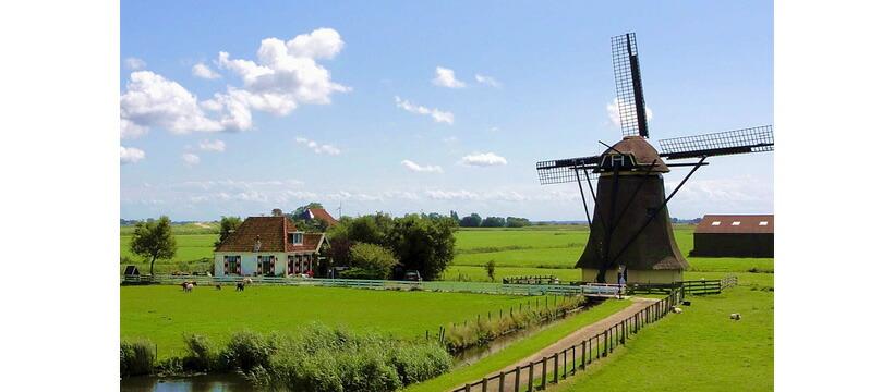 オランダの風景写真
