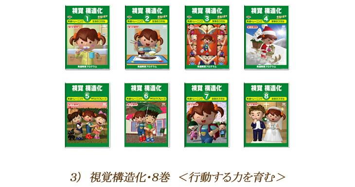 視覚構造化DVD8巻