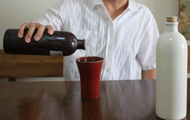 ラジウムボトル[信楽焼 陶器]