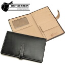Glenn field Green British bridle Leather passport case 10340