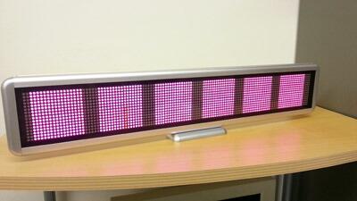 小型電光看板3カラー 3色LED看板 LED電光板安価で購入 LED節電