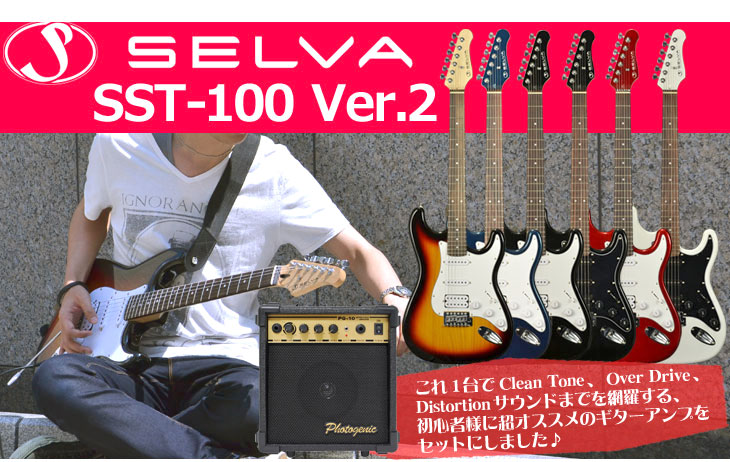 Selva SST-100 version2 MB-10G SET