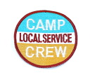 !! Embroidered emblem ☆ CAMP CREW