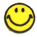 ☆!! Embroidered emblem smile ♪ (small)