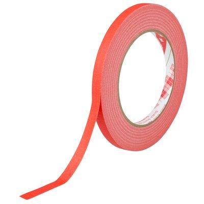 3M(スリーエム) スコッチ 色付きクレープテープ 赤 9mm×50m [247N]