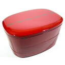 Nested three boxes oval strands [Kyoto lacquer ware Inoue Assistant Professor] Rakuten ranking # 1 3-modern and fashionable note boxes with compartments compact storage osechi (NABE), athletic, and cherry blossom Bento (lunchbox) fs3gm
