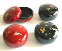 Bon Bon, put candy [Kyoto lacquer ware Inoue Assistant Professor: lacquered ( candy box, glove compartment). As a souvenir to the celebration of the gift of marriage, birth, birthday gifts, 内 祝 I, in return, foreign