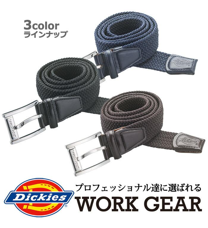 Dickies ITEMS 日常使いとしても使えるDickiesベルト