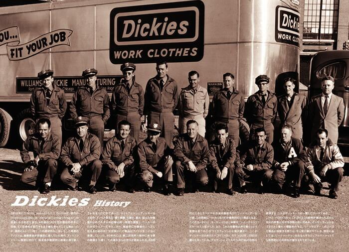 Dickies(ディッキーズ)History