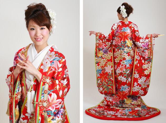 日式和服新娘发型鉴赏