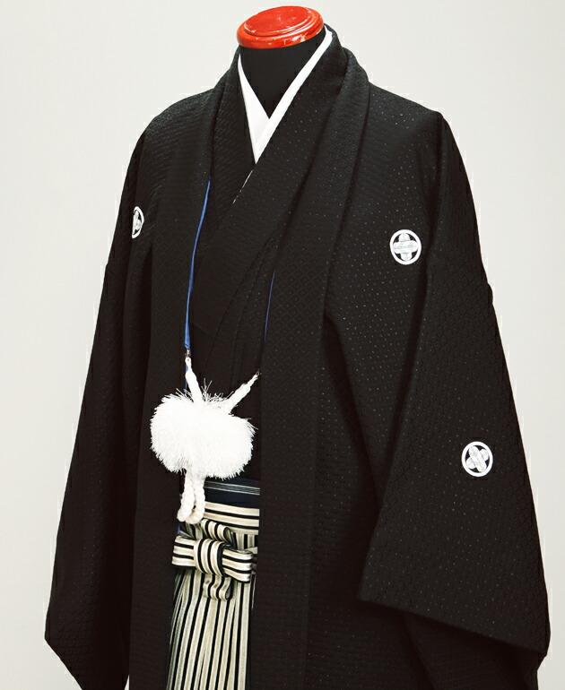 黒刺子 紋付