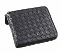 222536 1000 two ボッテガ Benatar fold wallet V4651 calfskin (black) deep-discount popular new SALE wallet