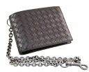 Bottega Veneta chain with 二ツ折 purse 145654 V4651 2040 calfskin (d. Brown )) appreciation reduced brand new SALE wallet