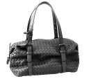 272801 8175 ボッテガヴェネタ [BOTTEGA VENETA] Boston Montaigne bag V0016 lambskin (black) popularity new article SALE ボッテガヴェネタバッグ