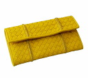 Bottega Veneta large zip around wallet 278556 VV551 7168 deerskin (sunset) SALE brand new-Saif