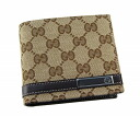 233102 9643 gucci GUCCI two fold wallet FAFXR GG canvas X leather (beige X dark brown) popularity new article SALE