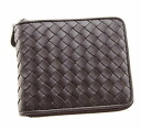 Bottega Veneta wallet 2 fold wallet 222536 V4651 2040 calfskin (dark brown) very cheap popular brand new SALE