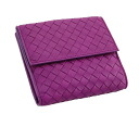 163240 5200 ボッテガ Benatar folio wallet V0013 lambskins (オーキッド / light purple) deep-discount popular new SALE