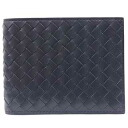 Bottega Veneta wallet men's 2 fold wallet 113112 V4651 4013 calfskin (L. tourmaline blue) the yen reduced brand new SALE