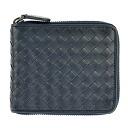 Bottega Veneta two bi-fold wallet 222536 V4651 4013 L... tourmaline blue calfskin wallet [BOTTEGA VENETA] popular brand new SALE