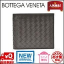 Bottega Veneta wallet wallet 2 fold wallet 193642 V4651 2040 calfskin (dark brown) the yen reduced brand new SALE
