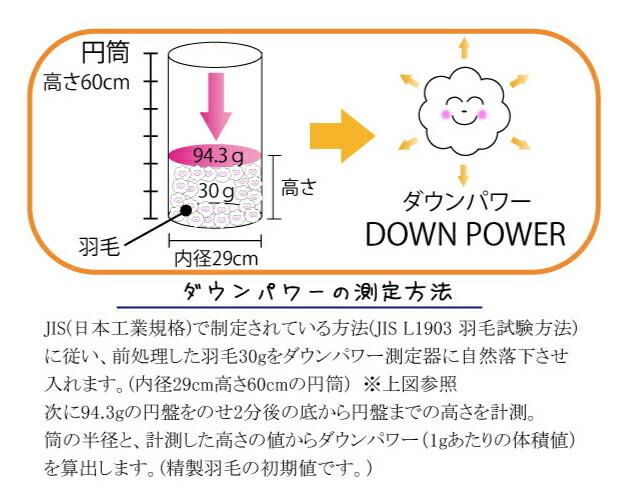 ダウンパワー計測法
