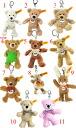 テディーベアーテディーベア including the コージー teddy bear key ring ■ シュタイフ sewing