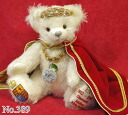 2012 The Queen's Diamond Jubilee ■ green Herman Corporation-limited teddy bear