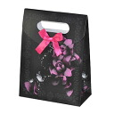 Wrapping just so convenient! wrapping bag (rose, black pink)