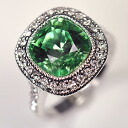 Green CZ ♪ green go Japanese Agricultural Standards ring full of the dignity of high quality