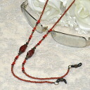 ♪ glasses necklace (classical cornelian) stylish with convenience