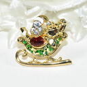 Is a broach shiningly; for fashion accent ♪ pin broach (a sled goes shiningly)