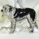 Neck and bag at one point ♪ brooch (large dogs and 2 )