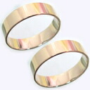 Wedding ring wedding ring pair gold Sousa-K18 cursive...?... Kanji... heart... engraved OK solid quality! Mint certification marks on flat ring mirror finish standard wedding Memorial Day white ★ happy bond ★