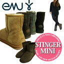 EMU スティンガーミニ Sheepskin boots STINGER MINI Boots Sheepskin short boots Model No-W10003 ★ autumn/winter 2013 new ★