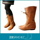 Joe sanchez Sanchez ladies 13839 SOFIA Ribbon design leather boots Spain shot! Yawaraka natural folklore leather boots