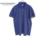 SCOTCH&SODA men polo shirt short sleeves polo vintage polo shirt