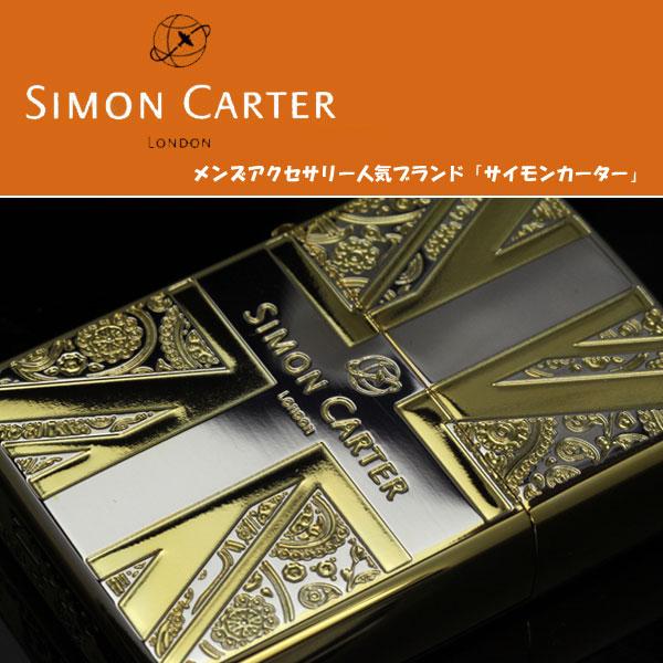 zippo ジッポライター SIMON CARTER サイモンカーター ユニオンジャックPB-SG 画像1