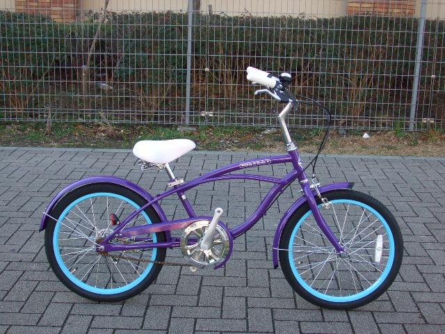 自転車の 自転車 キッズ 20インチ 女の子 : クルーザー!!20インチ ...