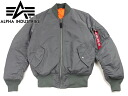 Alpha industries ALPHA Ma-1 flight jacket import gunmetal ■ bandana gifts ■ ( MA1 IMPORT military casual )