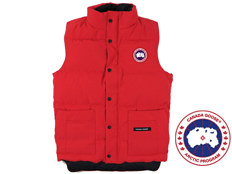 canada goose Vests Red