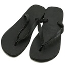 Hawaiian announcers havaianas beach sandal top black (the TOP B sun)