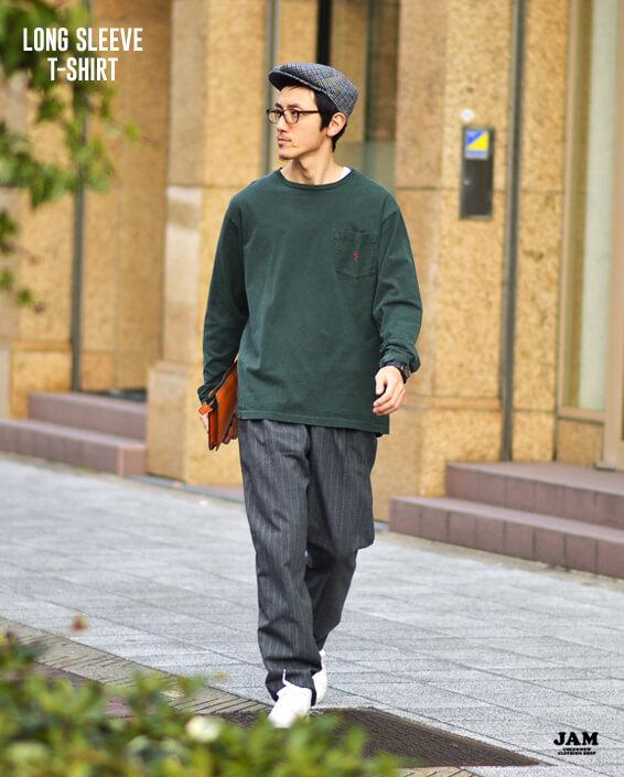 ロングTシャツ ロンT1