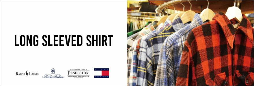 古着屋JAMの長袖シャツ