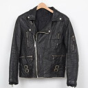 ♪Real leather leather Ron Jean model UK riders / size S/wea4191 ♪ #WEARMENS# men # outer #LEAJ#S#muj#blk#rok# men #rnkb#140319#