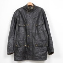 Real leather Belstaff silver label riders jacket ♪ bell staff leather riders Panther JKT/ size L/wea5385 ♪ #140329