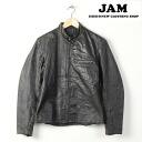 ~ 70 standing collar single Ray jacket mens M vintage /wee3398 141221