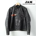 60's USA-made Harley-Davidson horsehide single Ray jacket mens M mens M vintage Harley-Davidson /wee3797 141221