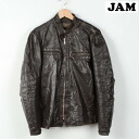 70's USA-made BEAUBREED stand up collar single Ray jacket mens L vintage /wef3221 150227